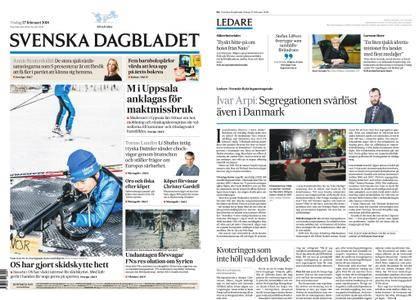 Svenska Dagbladet – 27 februari 2018