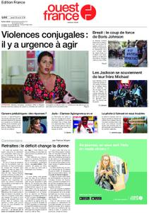 Ouest-France Édition France – 29 août 2019
