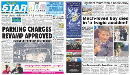 Shropshire Star Shrewsbury Edition – January 18, 2018
