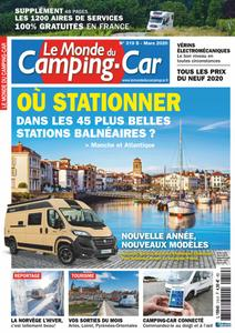 Le Monde du Camping-Car - mars 2020