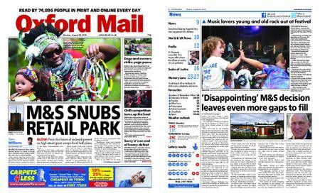 Oxford Mail – August 20, 2018