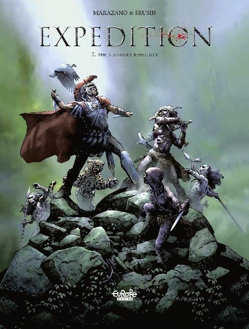 Europe Comics - Expedition Vol 02 The Niangara Rebellion 2018 Hybrid Comic eBook