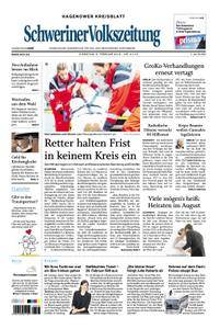 Schweriner Volkszeitung Hagenower Kreisblatt - 06. Februar 2018
