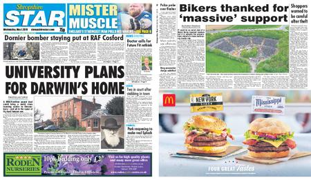 Shropshire Star Shrewsbury Edition – May 01, 2019