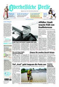 Oberhessische Presse Marburg/Ostkreis - 22. Mai 2019