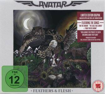 Avatar - Feathers & Flesh (2016) {Deluxe Edition, CD+DVD Digipak}