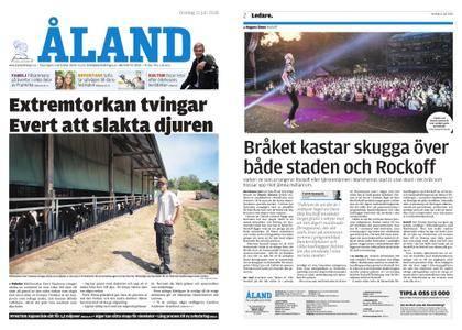 Ålandstidningen – 11 juli 2018