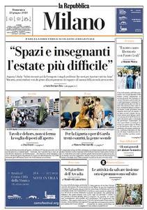 la Repubblica Milano - 28 Giugno 2020