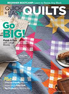 McCall's Quick Quilts – April 2021