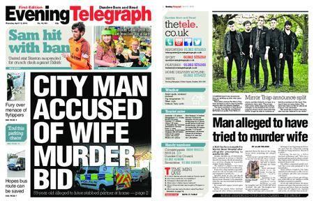 Evening Telegraph First Edition – April 12, 2018