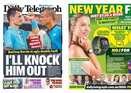 The Daily Telegraph (Sydney) – January 16, 2019