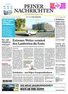 Peiner Nachrichten - 20. Oktober 2017