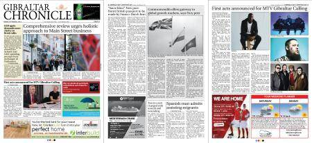 Gibraltar Chronicle – 23 March 2018