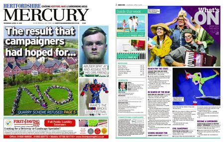 Hertfordshire Mercury – April 11, 2019