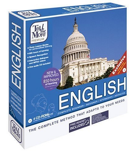 Tell Me More English v8 Business Language Course