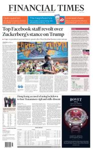 Financial Times Middle East - June 2, 2020