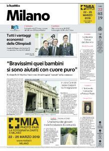la Repubblica Milano - 22 Marzo 2019