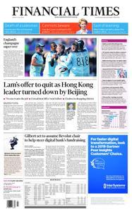 Financial Times UK – July 15, 2019