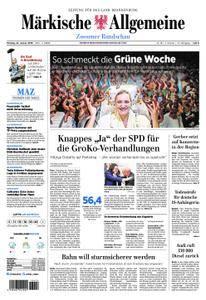Märkische Allgemeine Zossener Rundschau - 22. Januar 2018