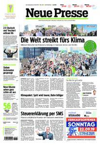 Neue Presse - 21. September 2019