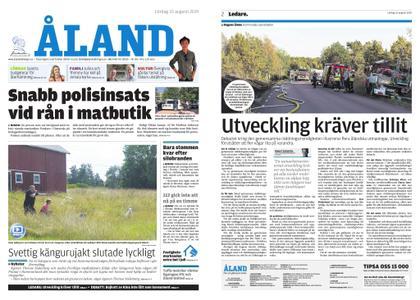 Ålandstidningen – 10 augusti 2019