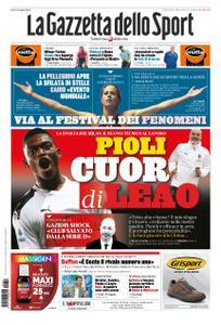 La Gazzetta dello Sport Roma – 10 ottobre 2019