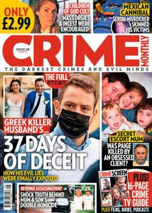 Crime Monthly – July 2021