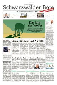 Schwarzwälder Bote Sulz - 18. Januar 2019