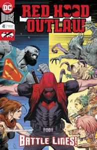 Red Hood-Outlaw 041 2020 2 covers Digital Oracle