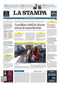 La Stampa Torino Provincia e Canavese - 1 Settembre 2020