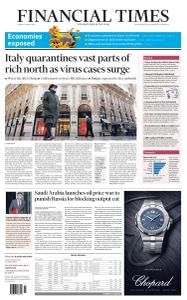 Financial Times UK - March 9, 2020