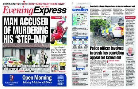 Evening Express – September 29, 2017