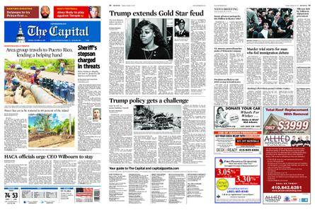 The Capital – October 24, 2017