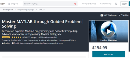 Master MATLAB through Guided Problem Solving