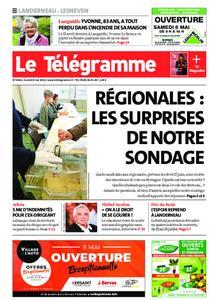 Le Télégramme Landerneau - Lesneven – 08 mai 2021