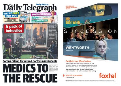 The Daily Telegraph (Sydney) – April 02, 2020