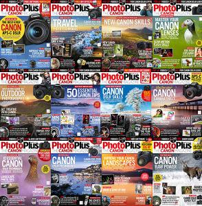 PhotoPlus: The Canon Magazine - Full Year 2019 Collection