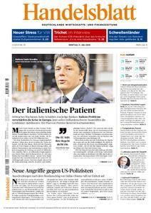 Handelsblatt - 11. Juli 2016