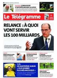Le Télégramme Brest Abers Iroise – 04 septembre 2020