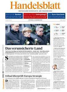 Handelsblatt - 21 Dezember 2016