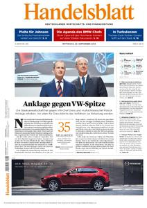 Handelsblatt - 25. September 2019