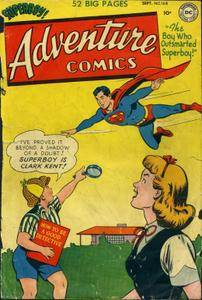 Adventure Comics 1951-09 168 missing CF