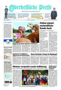 Oberhessische Presse Marburg/Ostkreis - 24. August 2018