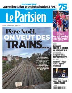 Le Parisien du Samedi 14 Décembre 2019