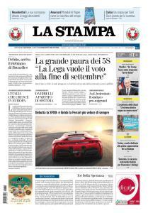 La Stampa Torino Provincia e Canavese - 30 Maggio 2019