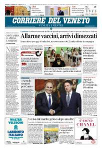 Corriere del Veneto Venezia e Mestre – 17 gennaio 2021