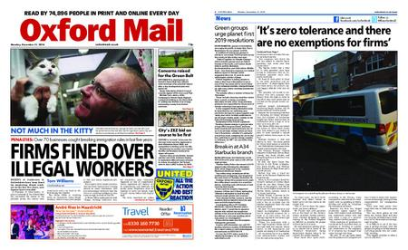 Oxford Mail – December 31, 2018