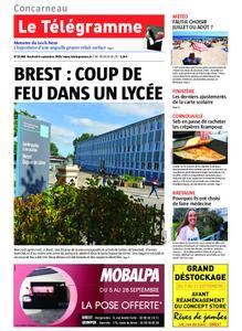Le Télégramme Concarneau – 06 septembre 2019
