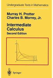 Intermediate Calculus (2nd edition)