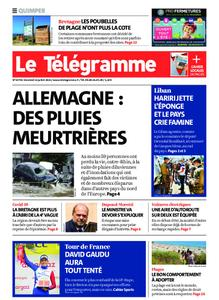 Le Télégramme Quimper – 16 juillet 2021